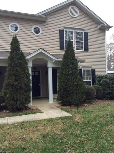 Kernersville Condo/Townhouse For Sale: 1107 McConnell Drive