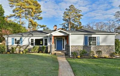 Winston Salem Single Family Home For Sale: 755 Sylvan Road
