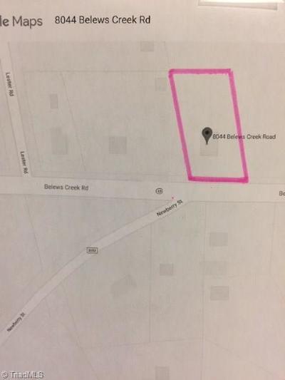 Stokesdale Residential Lots & Land For Sale: 8044 Belews Creek Road