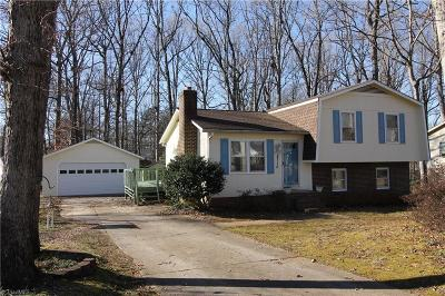 Greensboro NC Single Family Home For Sale: $159,900