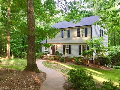 Asheboro Single Family Home For Sale: 1284 Briarcliff Drive