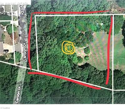 Winston Salem Residential Lots & Land For Sale: Carolyn Drive