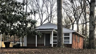 Greensboro NC Single Family Home For Sale: $79,900