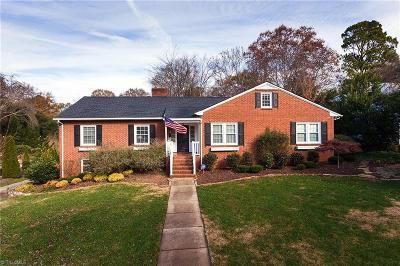 Winston Salem Single Family Home For Sale: 2741 Spring Garden Road