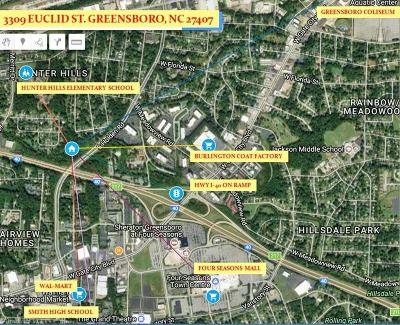 Greensboro Residential Lots & Land For Sale: 3309 Euclid Street