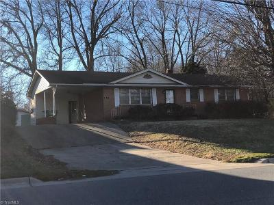 High Point Single Family Home For Sale: 3025 Main Street