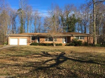 High Point Single Family Home For Sale: 214 Pineridge Drive