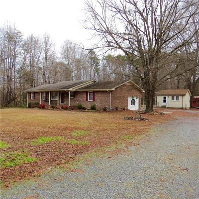 Reidsville Single Family Home For Sale: 8924 Us Highway 158 W