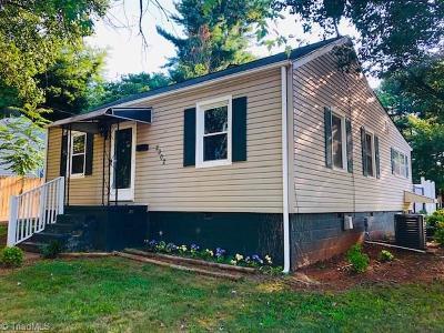 Winston Salem Single Family Home For Sale: 2902 Trent Street