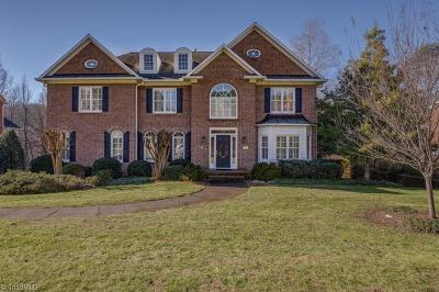 Winston Salem Single Family Home For Sale: 3121 Allerton Lake Drive