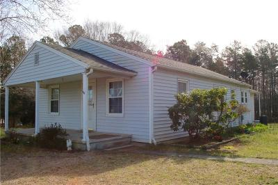 Randleman Single Family Home For Sale: 4480 Bowman Avenue