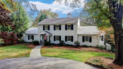 Winston Salem Single Family Home For Sale: 748 N Pine Valley Road