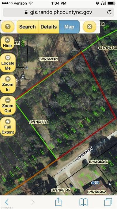 Trinity Residential Lots & Land For Sale: Jordan Street