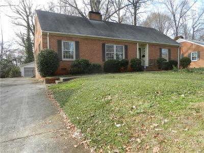 Greensboro Single Family Home For Sale: 907 Onslow Drive