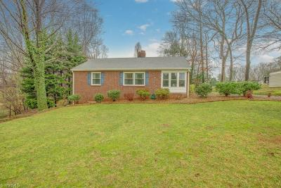 Winston Salem Single Family Home Due Diligence Period: 1501 Old Hollow Road