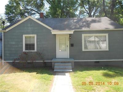 Greensboro Single Family Home For Sale: 308 Marshall Street