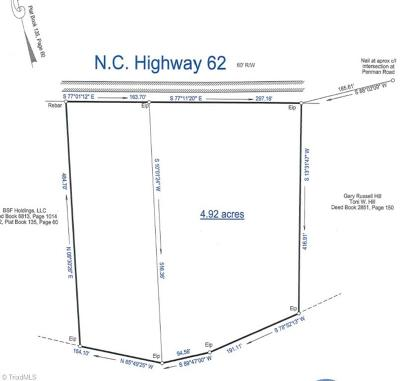 Residential Lots & Land For Sale: 1703-1713 Nc Highway 62