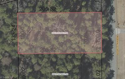 Winston Salem Residential Lots & Land For Sale: 0.47 Morning Star Lane
