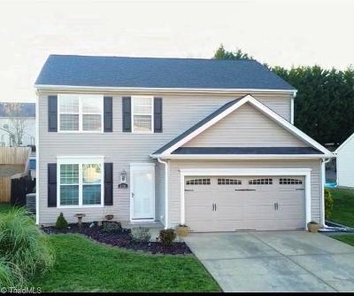 Winston Salem Single Family Home For Sale: 6056 Parkside Circle