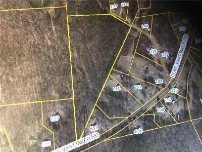 Davie County Residential Lots & Land For Sale: 00 Duke Whittaker Road