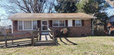 Greensboro Single Family Home For Sale: 613 Memphis Street
