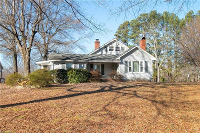 Kernersville Single Family Home For Sale: 7721 Combs Road