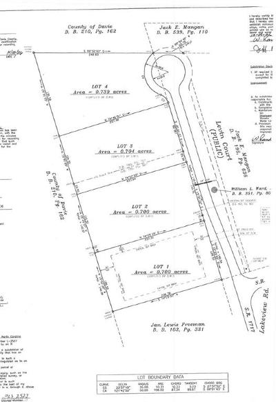Davie County Residential Lots & Land For Sale: 127 Levin Court