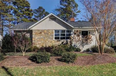 Winston Salem Single Family Home For Sale: 3313 Buena Vista Road