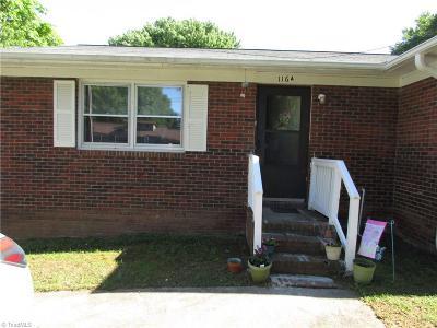 Mayodan Single Family Home For Sale: 116 Boles Street