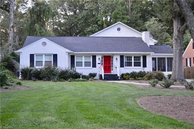 Greensboro Single Family Home For Sale: 3408 Madison Avenue