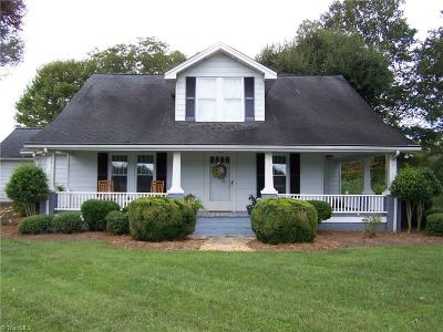 Iredell County Single Family Home For Sale: 3199-88-Acres W Memorial Highway