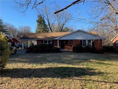 Winston Salem Single Family Home For Sale: 2709 Polo Road
