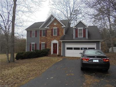 Kernersville Single Family Home For Sale: 7181 Avenbury Circle