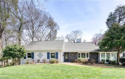 Winston Salem Single Family Home For Sale: 927 Stratford Road
