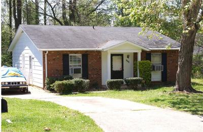 Winston Salem Single Family Home For Sale: 2836 Inca Lane