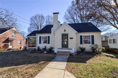 Winston Salem Single Family Home For Sale: 2324 Westover Drive