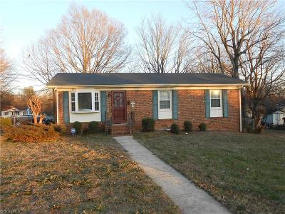 Reidsville Single Family Home For Sale: 1722 Courtland Avenue