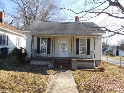 Reidsville Single Family Home For Sale: 505 Fontaine Street