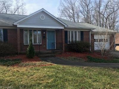 Winston Salem Single Family Home For Sale: 3250 Midkiff Road