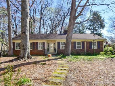Greensboro Single Family Home For Sale: 902 Montrose Drive