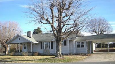 Rural Hall Single Family Home For Sale: 7540 Broad Street