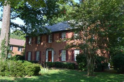 Greensboro Single Family Home For Sale: 1132 Jefferson Road
