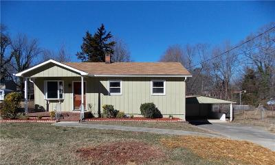 High Point Single Family Home Due Diligence Period: 507 Clover Drive