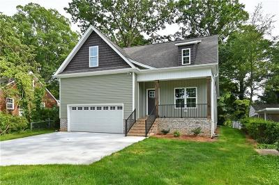 Winston Salem Single Family Home For Sale: 2310 Sherwood Drive