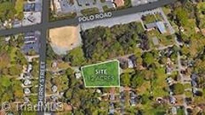 Winston Salem Residential Lots & Land For Sale: McCanless Street