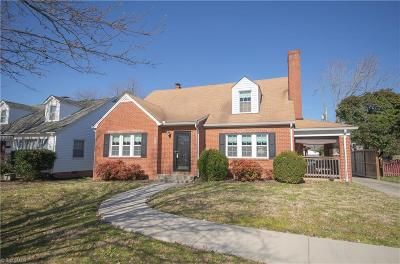 High Point Single Family Home For Sale: 702 Ferndale Boulevard