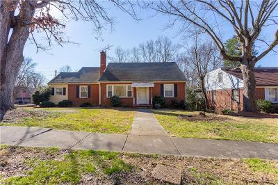 High Point Single Family Home For Sale: 801 Sunset Drive