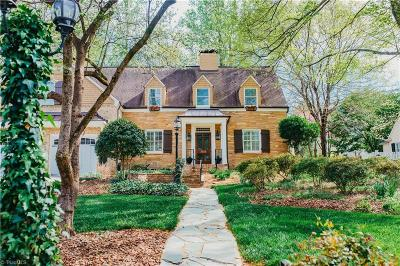 Greensboro Single Family Home For Sale: 3105 Madison Avenue