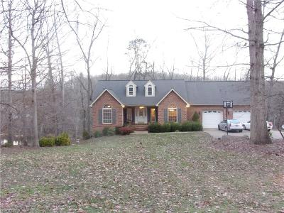 Davidson County Single Family Home For Sale: 282 Mountain Shore Drive