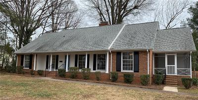 Greensboro Single Family Home For Sale: 1316 Lakewood Drive